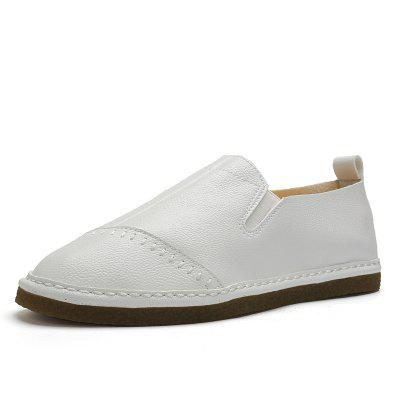 Male Daily Casual Ultralight Driving Flat LoaferFlats &amp; Loafers<br>Male Daily Casual Ultralight Driving Flat Loafer<br><br>Closure Type: Slip-On<br>Contents: 1 x Pair of Shoes, 1 x Box, 1 x Dustproof Paper<br>Function: Slip Resistant<br>Materials: TPR, Microfiber<br>Occasion: Tea Party, Shopping, Party, Office, Holiday, Outdoor Clothing, Casual, Daily, Dress<br>Outsole Material: TPR<br>Package Size ( L x W x H ): 33.00 x 24.00 x 13.00 cm / 12.99 x 9.45 x 5.12 inches<br>Package Weights: 0.80kg<br>Pattern Type: Solid<br>Seasons: Autumn,Spring<br>Style: Modern, Leisure, Fashion, Comfortable, Casual, Business<br>Toe Shape: Round Toe<br>Type: Flat Shoes<br>Upper Material: Microfiber