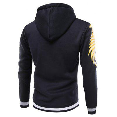Fashion Wings Printing Hoodie JacketMens Hoodies &amp; Sweatshirts<br>Fashion Wings Printing Hoodie Jacket<br><br>Closure Type: Zipper<br>Clothes Type: Hoodie Jacket<br>Material: Cotton, Polyester<br>Occasion: Casual<br>Package Contents: 1 x Hoodie Jacket<br>Package size: 40.00 x 30.00 x 4.00 cm / 15.75 x 11.81 x 1.57 inches<br>Package weight: 0.4800 kg<br>Product weight: 0.4500 kg<br>Style: Casual<br>Thickness: Regular