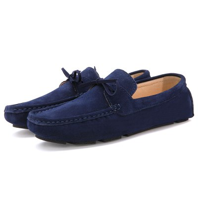 Buy BLUE 40 Male Lightweight Soft Driving Casual Flat Loafer for $40.90 in GearBest store