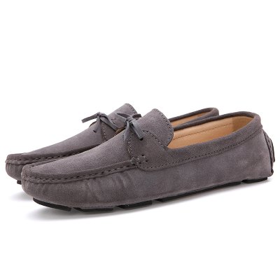 Buy GRAY 38 Male Lightweight Soft Driving Casual Flat Loafer for $40.90 in GearBest store