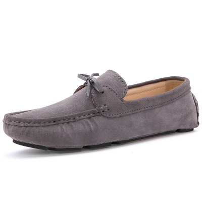 Male Lightweight Soft Driving Casual Flat LoaferFlats &amp; Loafers<br>Male Lightweight Soft Driving Casual Flat Loafer<br><br>Closure Type: Slip-On<br>Contents: 1 x Pair of Shoes, 1 x Box, 1 x Dustproof Paper<br>Function: Slip Resistant<br>Lining Material: Pigskin<br>Materials: Rubber, Suede, Pigskin<br>Occasion: Tea Party, Shopping, Party, Holiday, Casual, Office, Daily, Dress, Formal<br>Outsole Material: Rubber<br>Package Size ( L x W x H ): 33.00 x 24.00 x 13.00 cm / 12.99 x 9.45 x 5.12 inches<br>Package Weights: 0.80kg<br>Pattern Type: Solid<br>Seasons: Autumn,Spring<br>Style: Modern, Leisure, Formal, Fashion, Comfortable, Casual, Business<br>Toe Shape: Round Toe<br>Type: Flat Shoes<br>Upper Material: Suede