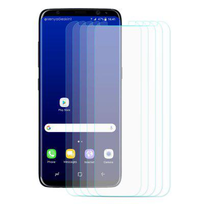 Hat - Prince Screen Film for Samsung Galaxy S8 5pcsSamsung S Series<br>Hat - Prince Screen Film for Samsung Galaxy S8 5pcs<br><br>Brand: Hat-Prince<br>Compatible with: Samsung Galaxy S8<br>Features: Anti fingerprint, Waterproof, Shock Proof, Protect Screen, Waterproof, Anti-oil, Ultra thin, Anti scratch, Anti fingerprint, Shock Proof, Protect Screen, Anti-oil, Anti scratch, Ultra thin<br>For: Samsung Mobile Phone<br>Material: Tempered Glass, Tempered Glass<br>Package Contents: 5 x Tempered Glass Film, 5 x Cleaning Cloth, 5 x Dust Absorber, 5 x Alcohol Bag, 5 x Tempered Glass Film, 5 x Cleaning Cloth, 5 x Dust Absorber, 5 x Alcohol Bag<br>Package size (L x W x H): 18.00 x 8.80 x 0.60 cm / 7.09 x 3.46 x 0.24 inches, 18.00 x 8.80 x 0.60 cm / 7.09 x 3.46 x 0.24 inches<br>Package weight: 0.1030 kg, 0.1030 kg<br>Product weight: 0.0400 kg, 0.0400 kg<br>Surface Hardness: 9H, 9H<br>Thickness: 0.26mm, 0.26mm