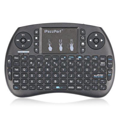iPazzPort KP - 810 - 21S Wireless Mini Keyboard Remote ControlAir Mouse<br>iPazzPort KP - 810 - 21S Wireless Mini Keyboard Remote Control<br><br>Battery Capacity (mAh): NO<br>Brand: iPazzPort<br>Charging Time: NO<br>Connection Type: 2.4GHz Wireless<br>Interface: No<br>Model: KP - 810 - 21S<br>Package size: 22.00 x 12.50 x 8.66 cm / 8.66 x 4.92 x 3.41 inches<br>Package weight: 0.2000 kg<br>Packing List: 1 x Mini Keyboard, 1 x USB Line, 1 x USB Receiver, 1 x English User Manual<br>Powered by: 2 x AAA Battery<br>Product Features: Remote Controller, Air Mouse, Ergonomic<br>Product size: 14.70 x 9.95 x 2.16 cm / 5.79 x 3.92 x 0.85 inches<br>Product weight: 0.1100 kg<br>Suitable for: HTPC, XBOX360, Pad, iPod touch, Google TV Box, iPhone