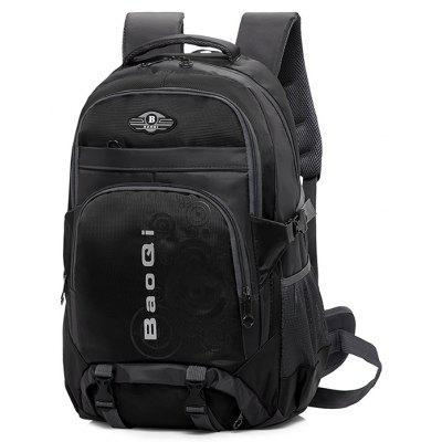 Buy BLACK Men Outdoor Water-resistant Large Capacity Sports Backpack for $25.44 in GearBest store