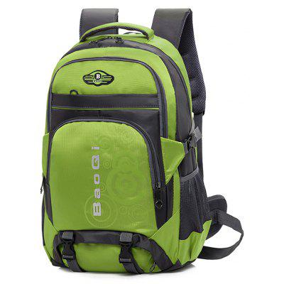 Buy GREEN Men Outdoor Water-resistant Large Capacity Sports Backpack for $25.44 in GearBest store