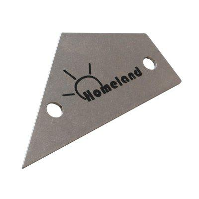 Homeland Guitar Stainless Steel Fret Rocker Leveling Ruler Tool