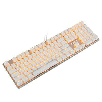 Ajazz NKRO Mechanical Keyboard with Breathing Light 108 Key for LOL
