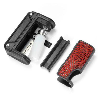 Gearbest LOST VAPE Therion BF DNA75C Squonk Mod - BLACK AND RED