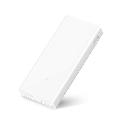 Original Xiaomi Power Bank 2CPower Banks<br>Original Xiaomi Power Bank 2C<br><br>Battery Type: Li-Polymer Battery<br>Brand: Xiaomi<br>Capacity (mAh): 20000mAh<br>Capacity Range: &gt;10000mAh<br>Connection Type: Micro USB, Two USB Output Interface<br>Input: 5V 2A / 9V 2A<br>Material: ABS<br>Output: 5.1V 2.4A / 9V 2A / 12V 1.5A<br>Package Contents: 1 x Power Bank, 1 x USB Cable, 1 x Chinese Manual<br>Package size (L x W x H): 16.30 x 10.20 x 3.70 cm / 6.42 x 4.02 x 1.46 inches<br>Package weight: 0.4140 kg<br>Product size (L x W x H): 14.95 x 6.96 x 2.39 cm / 5.89 x 2.74 x 0.94 inches<br>Product weight: 0.3600 kg<br>Type: Backup Power Banks