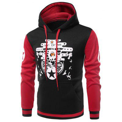 Buy Fashion Unique Printing Hoodie Jacket, BLACK, XL, Apparel, Men's Clothing, Men's Hoodies & Sweatshirts for $25.62 in GearBest store
