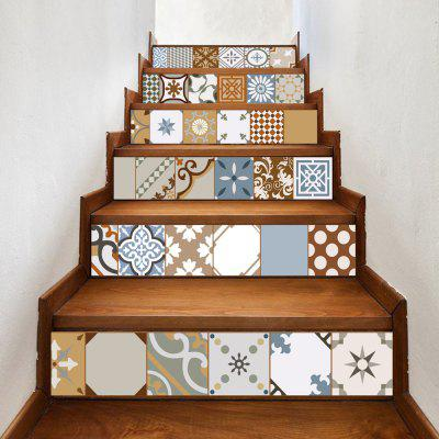 Buy DSU LT031 Personality Style Home Decor Stairs Sticker, MIX COLOR, Home & Garden, Home Decors, Wall Art, Wall Stickers for $22.30 in GearBest store