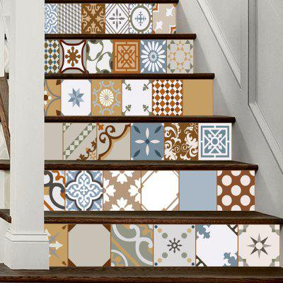 DSU LT031 Personality Style Home Decor Stairs StickerWall Stickers<br>DSU LT031 Personality Style Home Decor Stairs Sticker<br><br>Brand: DSU<br>Function: Decorative Wall Sticker<br>Material: Vinyl(PVC)<br>Package Contents: 6 x Sticker<br>Package size (L x W x H): 20.00 x 3.40 x 3.40 cm / 7.87 x 1.34 x 1.34 inches<br>Package weight: 0.4000 kg<br>Product size (L x W x H): 100.00 x 18.00 x 0.10 cm / 39.37 x 7.09 x 0.04 inches<br>Product weight: 0.3600 kg<br>Quantity: 6<br>Subjects: Fashion<br>Suitable Space: Bedroom,Hotel,Living Room<br>Type: Plane Wall Sticker