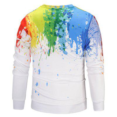 Mr 1991 INC Miss Go Colorful 3D Printing SweatshirtMens Hoodies &amp; Sweatshirts<br>Mr 1991 INC Miss Go Colorful 3D Printing Sweatshirt<br><br>Brand: Mr.1991INC&amp;Miss.Go<br>Clothes Type: Sweatshirt<br>Material: Polyester, Spandex<br>Occasion: Casual<br>Package Contents: 1 x Sweatshirt<br>Package size: 38.00 x 30.00 x 2.00 cm / 14.96 x 11.81 x 0.79 inches<br>Package weight: 0.4200 kg<br>Product weight: 0.4000 kg<br>Style: Casual<br>Thickness: Regular