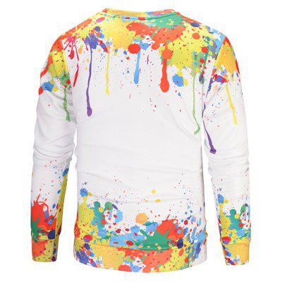Mr 1991 INC Miss Go Unique Colorful 3D Printing SweatshirtMens Hoodies &amp; Sweatshirts<br>Mr 1991 INC Miss Go Unique Colorful 3D Printing Sweatshirt<br><br>Brand: Mr.1991INC&amp;Miss.Go<br>Clothes Type: Sweatshirt<br>Material: Polyester, Spandex<br>Occasion: Casual<br>Package Contents: 1 x Sweatshirt<br>Package size: 38.00 x 30.00 x 2.00 cm / 14.96 x 11.81 x 0.79 inches<br>Package weight: 0.4200 kg<br>Product weight: 0.4000 kg<br>Style: Casual<br>Thickness: Regular