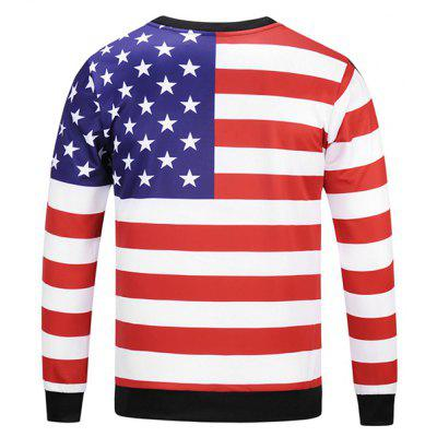 Mr 1991 INC Miss Go Striped Stars Printing SweatshirtMens Hoodies &amp; Sweatshirts<br>Mr 1991 INC Miss Go Striped Stars Printing Sweatshirt<br><br>Brand: Mr.1991INC&amp;Miss.Go<br>Clothes Type: Sweatshirt<br>Material: Polyester, Spandex<br>Occasion: Casual<br>Package Contents: 1 x Sweatshirt<br>Package size: 38.00 x 30.00 x 2.00 cm / 14.96 x 11.81 x 0.79 inches<br>Package weight: 0.4200 kg<br>Product weight: 0.4000 kg<br>Style: Casual<br>Thickness: Regular