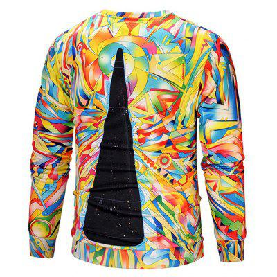 Mr 1991 INC Miss Go Unique 3D Printing SweatshirtMens Hoodies &amp; Sweatshirts<br>Mr 1991 INC Miss Go Unique 3D Printing Sweatshirt<br><br>Brand: Mr.1991INC&amp;Miss.Go<br>Clothes Type: Sweatshirt<br>Material: Polyester, Spandex<br>Occasion: Casual<br>Package Contents: 1 x Sweatshirt<br>Package size: 38.00 x 30.00 x 2.00 cm / 14.96 x 11.81 x 0.79 inches<br>Package weight: 0.4200 kg<br>Product weight: 0.4000 kg<br>Style: Casual<br>Thickness: Regular
