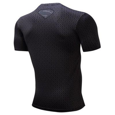 Quick Dry Breathable Sweat Absorption T-shirt for MenWeight Lifting Clothes<br>Quick Dry Breathable Sweat Absorption T-shirt for Men<br><br>Features: Breathable, High elasticity, Quick Dry<br>Gender: Men<br>Material: Polyester<br>Package Content: 1 x T-shirt<br>Package size: 20.00 x 15.00 x 2.00 cm / 7.87 x 5.91 x 0.79 inches<br>Package weight: 0.2100 kg<br>Product weight: 0.1900 kg<br>Types: Short Sleeves