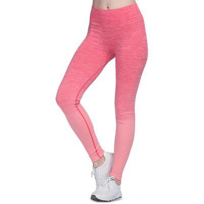 Buy ROSE RED M Elastic Sports Outdoor Yoga Pants for Women for $11.87 in GearBest store