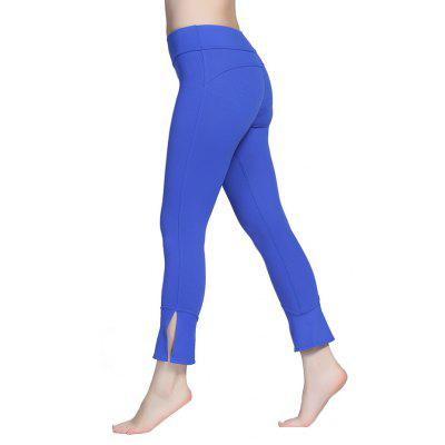 Outdoor Sports Elastic Slit Women Yoga PantsYoga<br>Outdoor Sports Elastic Slit Women Yoga Pants<br><br>Closure Type: Elastic Waist<br>Features: High elasticity, Breathable, Quick-Dry<br>Gender: Female<br>Material: Nylon, Spandex<br>Package Content: 1 x Pair of Pants<br>Package size: 28.00 x 20.00 x 1.50 cm / 11.02 x 7.87 x 0.59 inches<br>Package weight: 0.2202 kg<br>Product weight: 0.2116 kg<br>Types 1: Yoga Pants