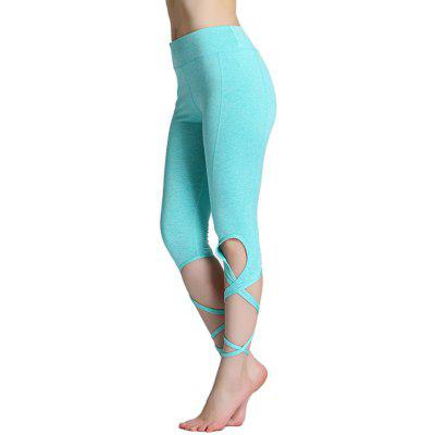 Outdoor Sports Tie Breathable Yoga Pants for WomenYoga<br>Outdoor Sports Tie Breathable Yoga Pants for Women<br><br>Closure Type: Elastic Waist<br>Features: High elasticity, Breathable, Quick-Dry<br>Gender: Female<br>Material: Polyester, Spandex<br>Package Content: 1 x Pair of Pants<br>Package size: 28.00 x 20.00 x 1.50 cm / 11.02 x 7.87 x 0.59 inches<br>Package weight: 0.1794 kg<br>Product weight: 0.1708 kg<br>Types 1: Yoga Pants