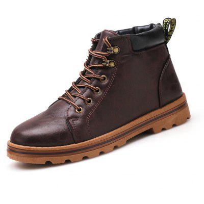 Male Classic Soft Grained Padded Ankle All-dressed BootsMens Boots<br>Male Classic Soft Grained Padded Ankle All-dressed Boots<br><br>Closure Type: Lace-Up<br>Contents: 1 x Pair of Shoes, 1 x Box, 1 x Dustproof Paper<br>Function: Slip Resistant<br>Materials: Leather, Rubber<br>Occasion: Outdoor Clothing, Office, Holiday, Formal, Dress, Daily, Casual<br>Outsole Material: Rubber<br>Package Size ( L x W x H ): 33.00 x 22.00 x 11.00 cm / 12.99 x 8.66 x 4.33 inches<br>Package Weights: 0.85kg<br>Pattern Type: Solid<br>Seasons: Autumn,Spring<br>Style: Modern, Leisure, Formal, Fashion, Comfortable, Casual, Business<br>Toe Shape: Round Toe<br>Type: Boots<br>Upper Material: Leather