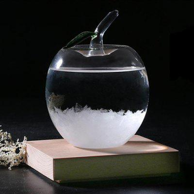 Apple Shape Previsioni Meteo Storm Glass Crystal Wishing Ball