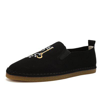 Male Super-soft Light Key Motif Flat LoaferFlats &amp; Loafers<br>Male Super-soft Light Key Motif Flat Loafer<br><br>Closure Type: Slip-On<br>Contents: 1 x Pair of Shoes, 1 x Box, 1 x Dustproof Paper<br>Function: Slip Resistant<br>Materials: TPR, Microfiber<br>Occasion: Tea Party, Party, Office, Holiday, Daily, Casual, Shopping<br>Outsole Material: TPR<br>Package Size ( L x W x H ): 33.00 x 24.00 x 13.00 cm / 12.99 x 9.45 x 5.12 inches<br>Package Weights: 0.80kg<br>Seasons: Autumn,Spring<br>Style: Modern, Leisure, Fashion, Comfortable, Casual<br>Toe Shape: Round Toe<br>Type: Flat Shoes<br>Upper Material: Microfiber