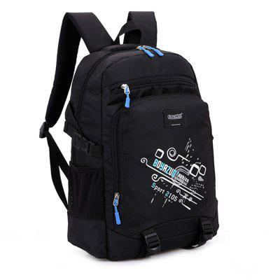 Stylish Printed Water-resistant BackpackBackpacks<br>Stylish Printed Water-resistant Backpack<br><br>Features: Wearable<br>Gender: Unisex<br>Material: Oxford Fabric<br>Package Size(L x W x H): 46.00 x 30.00 x 2.00 cm / 18.11 x 11.81 x 0.79 inches<br>Package weight: 0.7200 kg<br>Packing List: 1 x Backpack<br>Product weight: 0.7000 kg<br>Style: Casual, Fashion<br>Type: Backpacks