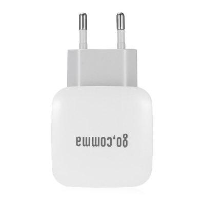 Gocomma QC 3.0 Power Adapter Charger - EU PLUG WHITE