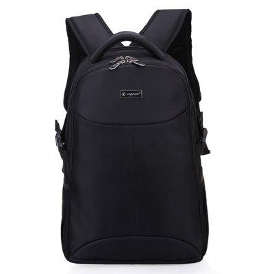 Buy BLACK Men Trendy Water-resistant Large Capacity Travel Backpack for $30.78 in GearBest store