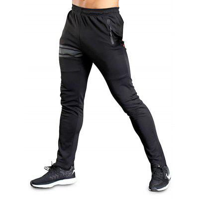Straight Zipper Pockets Leisure Sports Pants for MenSweatshirts &amp; Hoodies<br>Straight Zipper Pockets Leisure Sports Pants for Men<br><br>Features: Breathable, Keep Warm<br>Gender: Men<br>Material: Polyester<br>Package Content: 1 x Pair of Pants<br>Package size: 35.00 x 25.00 x 2.00 cm / 13.78 x 9.84 x 0.79 inches<br>Package weight: 0.3700 kg<br>Product weight: 0.3500 kg<br>Type: Pants