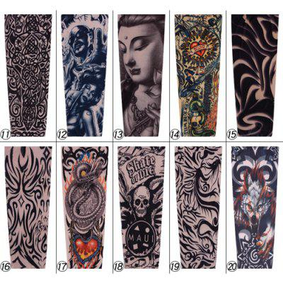 Unisex Tattoo Arm Sleeves Sun Protection Accessory 1PCTattoo Machines<br>Unisex Tattoo Arm Sleeves Sun Protection Accessory 1PC<br><br>Material: Nylon, Spandex<br>Package Contents: 1 x Arm Sleeve<br>Package size (L x W x H): 17.50 x 12.50 x 2.00 cm / 6.89 x 4.92 x 0.79 inches<br>Package weight: 0.0200 kg<br>Product weight: 0.0150 kg