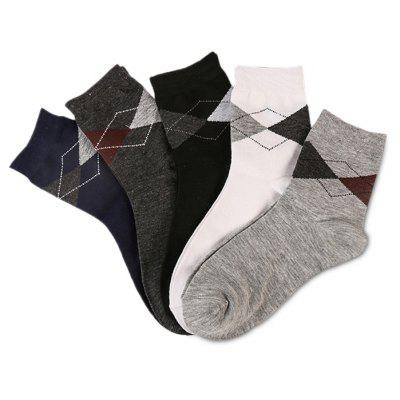 5 Paired Prismatic Pattern All-match Socks for MenMens Socks<br>5 Paired Prismatic Pattern All-match Socks for Men<br><br>Contents: 5 x Pair of Socks<br>Gender: Women<br>Material: Cony Hair, Wool<br>Package size (L x W x H): 24.00 x 4.00 x 10.00 cm / 9.45 x 1.57 x 3.94 inches<br>Package weight: 0.0220 kg<br>Product weight: 0.0200 kg<br>Style: Casual<br>Type: Socks