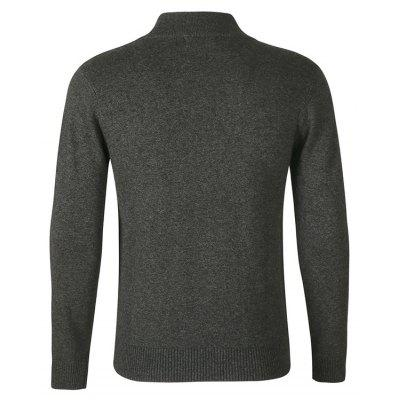 Simple Stand Collar SweaterMens Sweaters &amp; Cardigans<br>Simple Stand Collar Sweater<br><br>Material: Cotton<br>Occasion: Casual<br>Package Contents: 1 x Sweater<br>Package size: 40.00 x 30.00 x 2.50 cm / 15.75 x 11.81 x 0.98 inches<br>Package weight: 0.9000 kg<br>Pattern: Solid Color<br>Product weight: 0.8600 kg<br>Style: Casual<br>Thickness: Regular