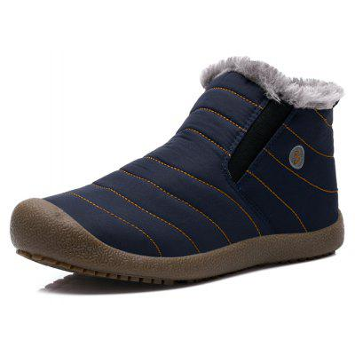 Male Thickened Warm Plush Casual Ankle BootsMens Boots<br>Male Thickened Warm Plush Casual Ankle Boots<br><br>Closure Type: Slip-On<br>Contents: 1 x Pair of Shoes, 1 x Box, 1 x Dustproof Paper<br>Function: Slip Resistant<br>Lining Material: Plush<br>Materials: Plush, Rubber, Fabric<br>Occasion: Tea Party, Shopping, Outdoor Clothing, Office, Casual, Party, Daily, Holiday<br>Outsole Material: Rubber<br>Package Size ( L x W x H ): 33.00 x 24.00 x 13.00 cm / 12.99 x 9.45 x 5.12 inches<br>Package Weights: 0.90kg<br>Pattern Type: Solid<br>Seasons: Autumn,Winter<br>Style: Modern, Leisure, Fashion, Comfortable, Casual<br>Toe Shape: Round Toe<br>Type: Boots<br>Upper Material: Cotton Fabric