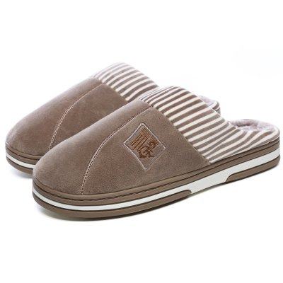 Male Soft Skin-loving Non-slip Warm Homelike Slippers