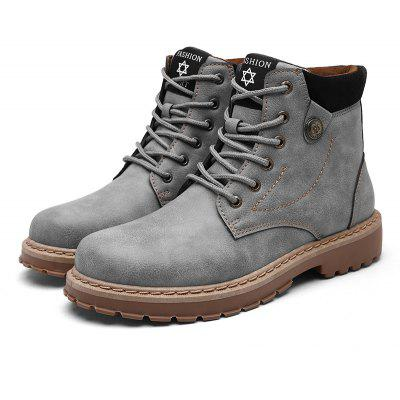 Masculino Trendy Manlike High-top Classic Boots
