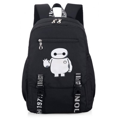 Trendy Printed Water-resistant Laptop BackpackBackpacks<br>Trendy Printed Water-resistant Laptop Backpack<br><br>Closure Type: Zip<br>Features: Wearable, Water Bottle Pocket<br>For: Shopping, Outdoor, Daily Use<br>Gender: Unisex<br>Material: Oxford Fabric<br>Package Size(L x W x H): 46.00 x 28.00 x 2.00 cm / 18.11 x 11.02 x 0.79 inches<br>Package weight: 0.5200 kg<br>Packing List: 1 x Backpack<br>Product weight: 0.5000 kg<br>Style: Fashion, Casual<br>Type: Backpacks
