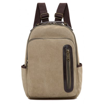 Vintage Canvas Multifunctional BackpackBackpacks<br>Vintage Canvas Multifunctional Backpack<br><br>Features: Wearable<br>Gender: Unisex<br>Material: Canvas<br>Package Size(L x W x H): 30.00 x 2.00 x 40.00 cm / 11.81 x 0.79 x 15.75 inches<br>Package weight: 0.7200 kg<br>Packing List: 1 x Backpack<br>Product weight: 0.7000 kg<br>Style: Casual, Fashion<br>Type: Backpacks