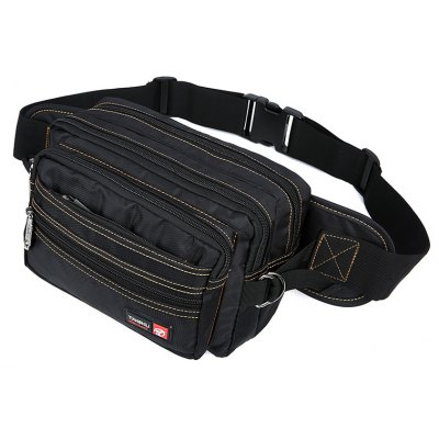 Leisure Trendy Durable Waist BagWaist Packs<br>Leisure Trendy Durable Waist Bag<br><br>Features: Wearable<br>Gender: Men<br>Material: Oxford Fabric<br>Package Size(L x W x H): 25.00 x 5.00 x 16.00 cm / 9.84 x 1.97 x 6.3 inches<br>Package weight: 0.3200 kg<br>Packing List: 1 x Waist Bag<br>Product weight: 0.3100 kg<br>Style: Casual, Fashion<br>Type: Waist Bag