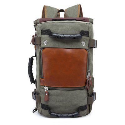 Buy ARMY GREEN VERTICAL Practical Large Capacity Backpack for Men for $54.84 in GearBest store