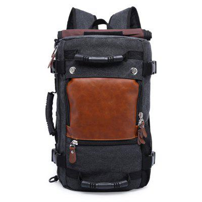 Buy BLACK VERTICAL Practical Large Capacity Backpack for Men for $54.84 in GearBest store