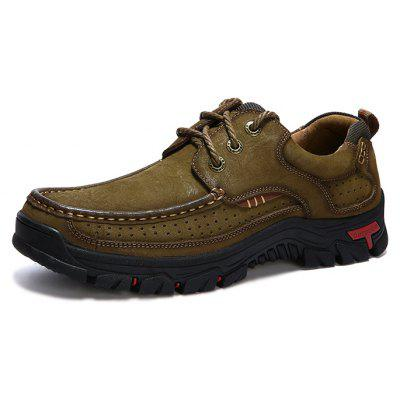 Male Versatile Soft Ultralight Hiking SneakersMen's Sneakers<br>Male Versatile Soft Ultralight Hiking Sneakers<br><br>Closure Type: Lace-Up<br>Contents: 1 x Pair of Shoes, 1 x Box<br>Function: Slip Resistant<br>Materials: Rubber, Leather<br>Occasion: Sports, Running, Outdoor Clothing, Holiday, Daily, Casual, Riding<br>Outsole Material: Rubber<br>Package Size ( L x W x H ): 31.00 x 21.00 x 13.00 cm / 12.2 x 8.27 x 5.12 inches<br>Package Weights: 1.15kg<br>Pattern Type: Solid<br>Seasons: Autumn,Spring<br>Style: Modern, Leisure, Fashion, Comfortable, Casual<br>Toe Shape: Round Toe<br>Type: Sports Shoes<br>Upper Material: Leather
