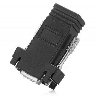 VGA Female to RJ45 Female Adapter Coupler Connector