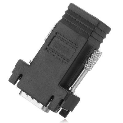 VGA Male to RJ45 Female Adapter Coupler Connector