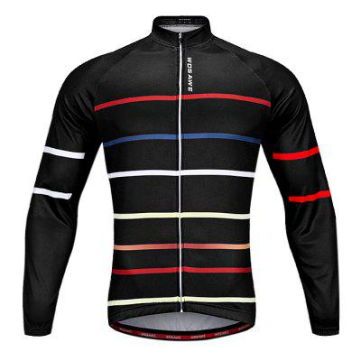 WOSAWE BC233 Breathable Long Sleeve Jersey for Men