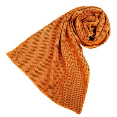 Buy ORANGE EVEVEME 00254 Cooling Towel for Gym Sports Exercise for $4.17 in GearBest store