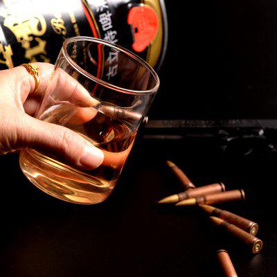 Coppa Creativa in Vetro per Whisky Faux Bullet Inlaid