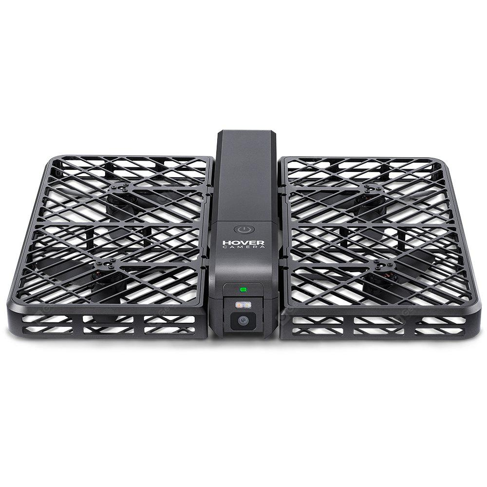 Hover Camera Passport Foldable RC Pocket Drone - BLACK