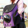 Dogs Cats Carrier Portable Capsule Space Bubble Backpack - PURPLE